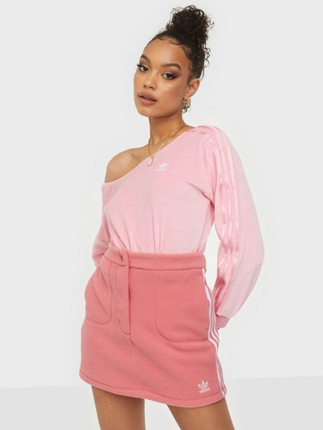Adidas Originals Fleece Skirt Minikjolar Pink