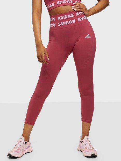 Adidas Sport Performance Aeroknit 78 T Träningstights Pink