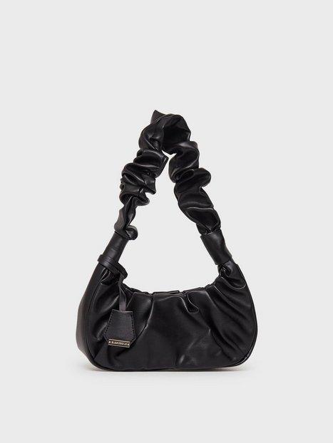 Glamorous Ruched Shoulder Bag Skuldertasker Black