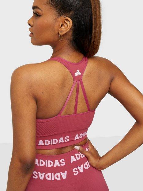 Adidas Sport Performance T Aeroknit Bra Sport BH Light Support Pink