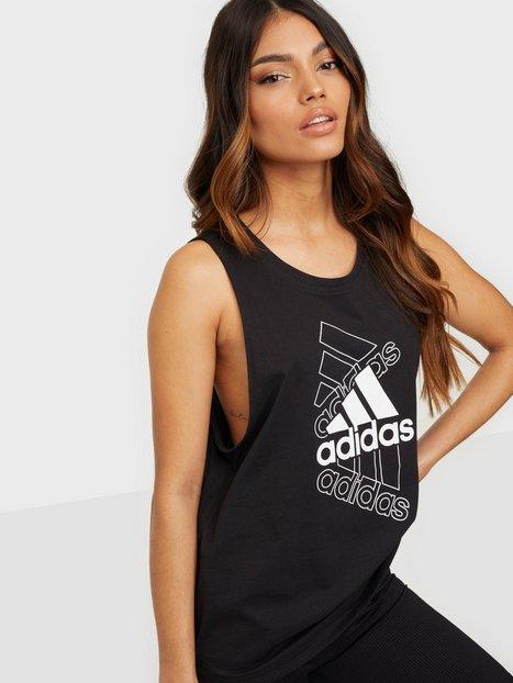 Adidas Sport Performance W s Tk Linne Loose Fit Black