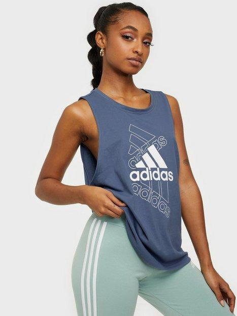 Adidas Sport Performance W s Tk Linne Loose Fit Blue