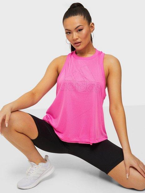 Adidas Sport Performance W SP Tank Linne Loose Fit Pink