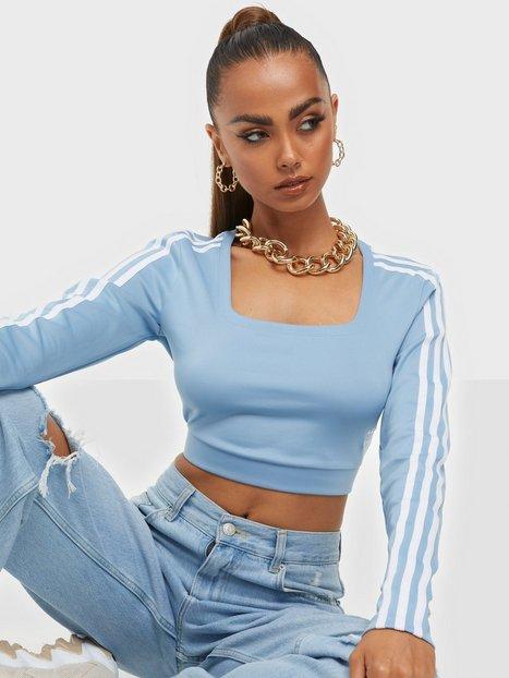 Adidas Originals Long Sleeve Langærmede toppe Blue