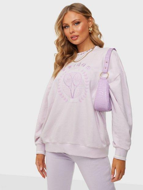 Adidas Originals Graphic Sweater Sweatshirts Pink