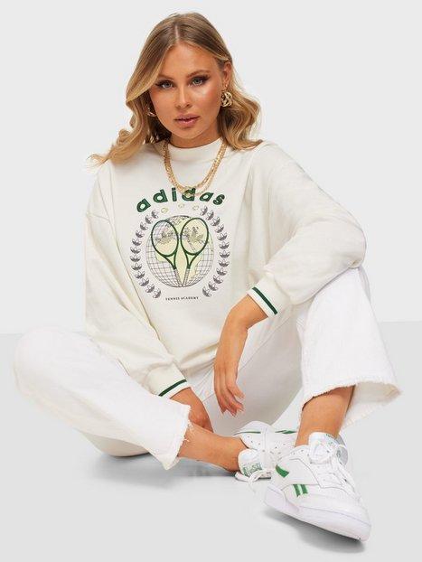 Adidas Originals Graphic Sweater Sweatshirts Offwhite