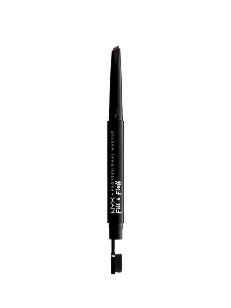 NYX Professional Makeup Fill & Fluff Eyebrow Pomade Pencil Øjenbryn Chocolate