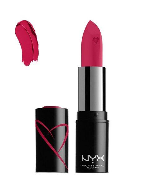 NYX Professional Makeup Shout Liquid Satin Lipstick Läppstift Cherry Charm