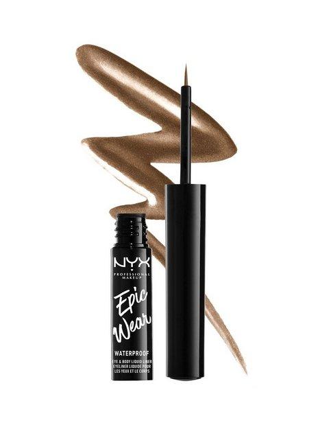 NYX Professional Makeup Epic Wear Metallic Liquid Liner Eyeliner Brown