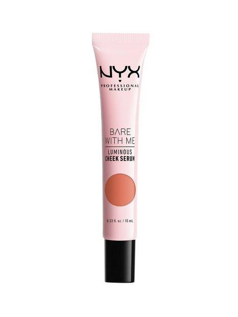 NYX Professional Makeup Bare With Me Luminous Cheek Serum Bronzer Peach Bronze