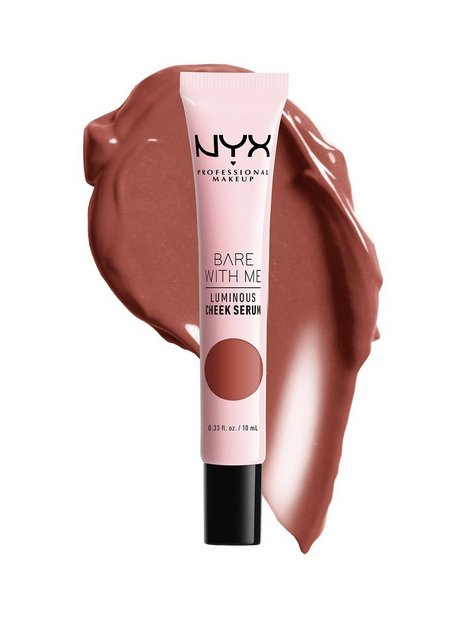 NYX Professional Makeup Bare With Me Luminous Cheek Serum Bronzer Terracotta Bronze