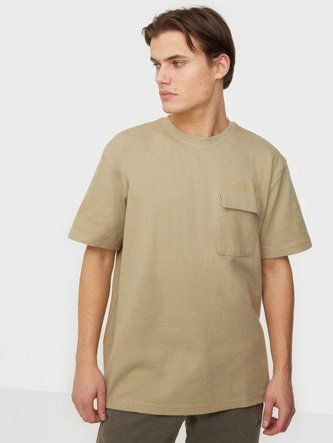 Woodbird Mili Box Tee T-shirts & undertrøjer Ecru