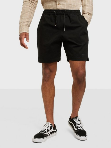 Woodbird Bommy Hoxen Shorts Shorts Black