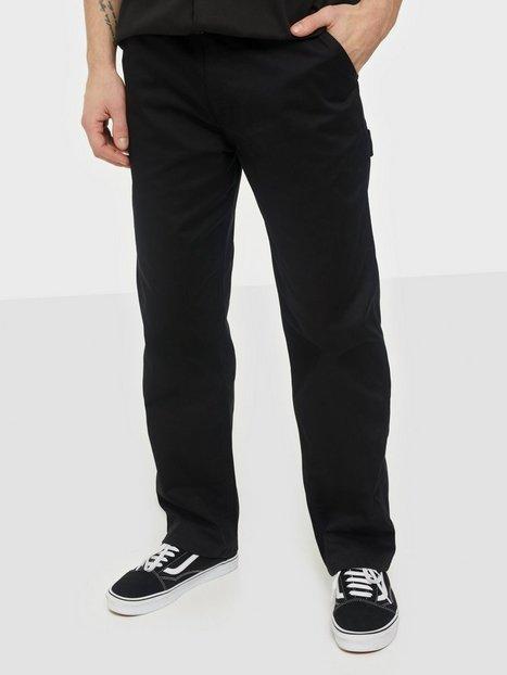 Woodbird Dizzon Worker Pants Bukser Black