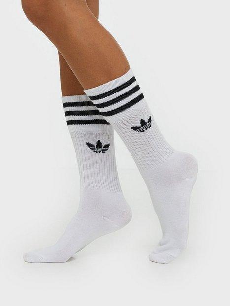 Billede af Adidas Originals Solid Crew Sock Strømper Hvid