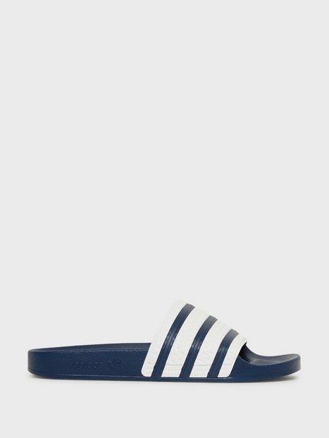 Adidas Originals Adilette Sandaler klip klappere Blue White - herre