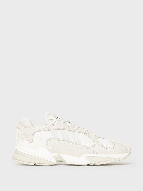 Adidas Originals Yung 1 Sneakers White Green mand køb billigt