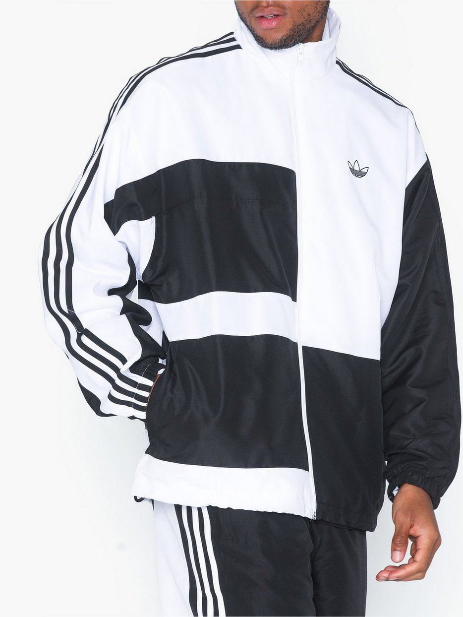 adidas Originals Block Track Jacket menn Klær Svart
