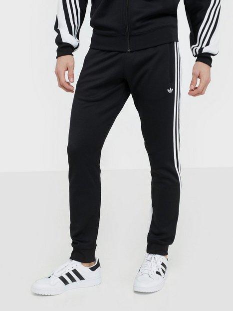 Adidas Originals 3STRIPE Wrap Tp Bukser Sort Hvid - herre