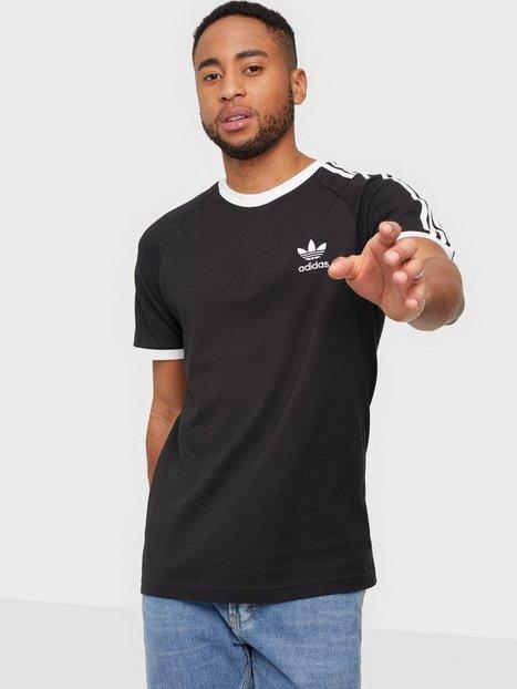Adidas Originals 3-Stripes Tee T-shirts & undertrøjer Black