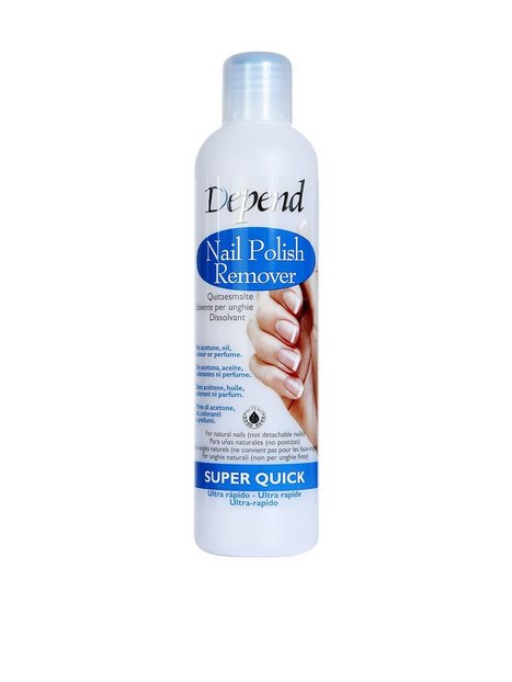 Depend Nail Polish Remover - Super Quick 250 ml Makeupfjerner