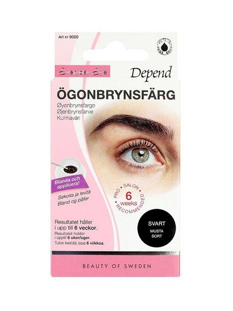 Depend Ögonbrynsfärg Øjenbryn Sort