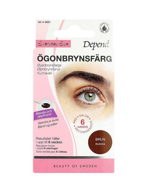 Depend Ögonbrynsfärg Øjenbryn Brun