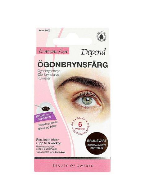 Depend Ögonbrynsfärg Øjenbryn Brun/Svart
