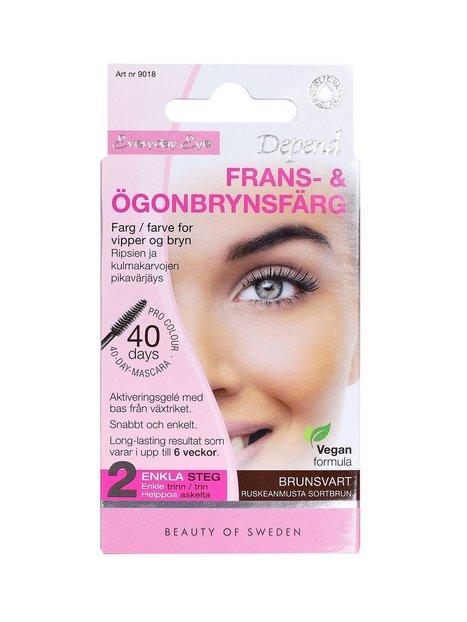 Depend Frans- & Ögonbrynsfärg Øjenbryn Brun/Svart