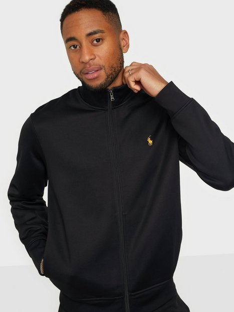 Se Polo Ralph Lauren Polo Full Zip Sweater Trøjer Black ved NLY Man