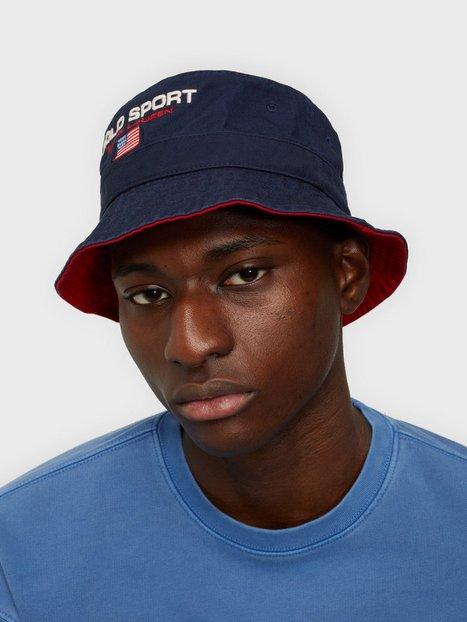 Se Polo Ralph Lauren Loft Bucket Hat Hatte Navy ved NLY Man