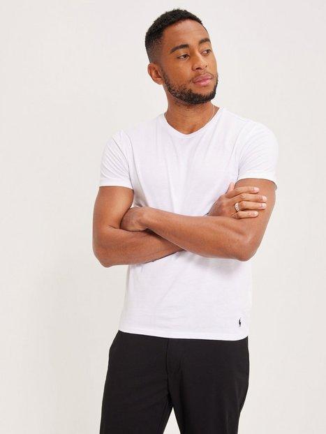 Polo Ralph Lauren S/S Crew-3 Pack-Crew Undershirt T-shirts & undertrøjer White