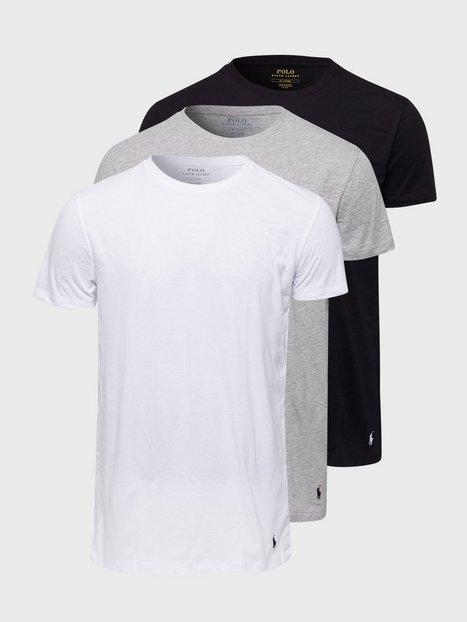 Polo Ralph Lauren S/S Crew-3 Pack-Crew Undershirt T-shirts & undertrøjer Multi