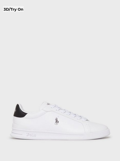 Se Polo Ralph Lauren Polo Athletic Sneaker Sneakers White/Black ved NLY Man
