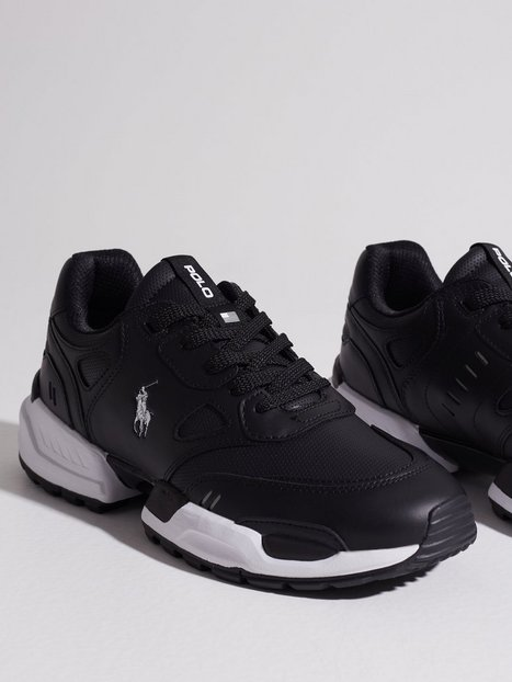 Polo Ralph Lauren Polo Athletic Sneaker Sneakers Black