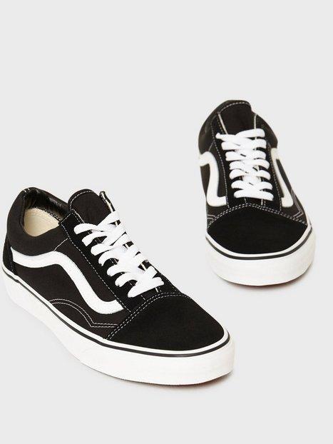 VANS Old Skool Sneakers Sort Hvid - herre