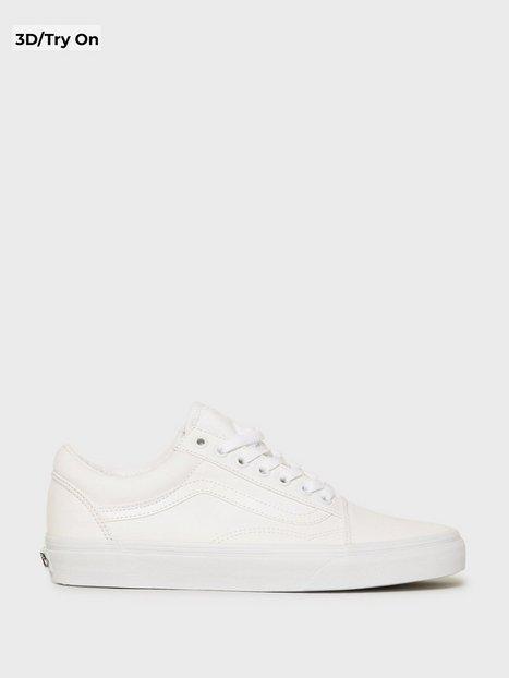 VANS Old Skool Sneakers White - herre