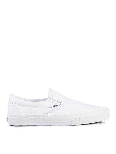 VANS Classic Slip On Sneakers Hvid mand køb billigt