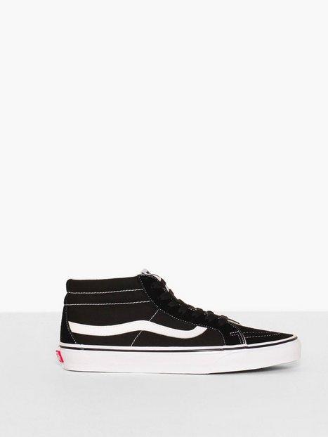 VANS UA SK8 Mid Reissue Sneakers Sort Hvid - herre