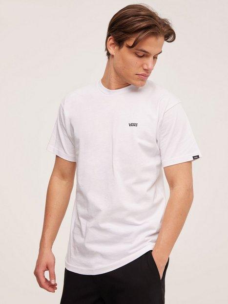 VANS Left Chest Logo Tee T-shirts & undertrøjer White/Black