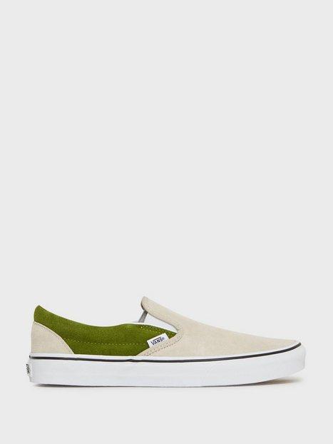 VANS UA Classic Slip On Sneakers Green mand køb billigt