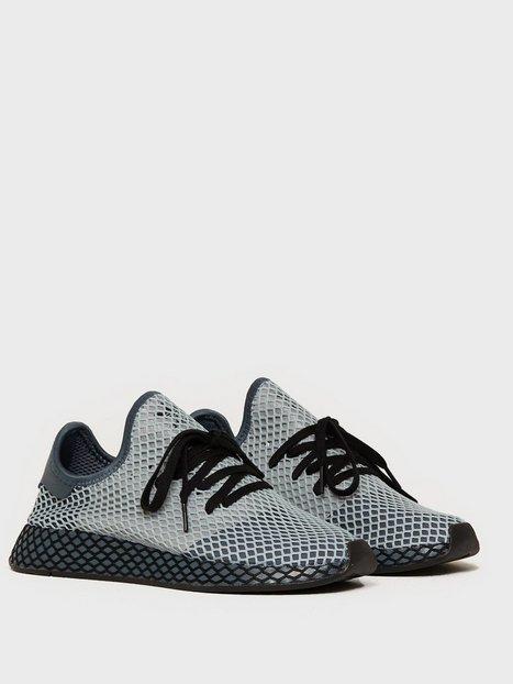 Adidas Originals Deerupt Runner Sneakers Blue Black - herre
