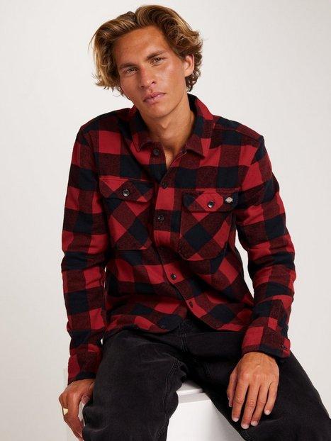 Dickies New Sacramento Shirt Skjorter Red