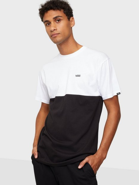 VANS Mn Colorblock Tee T-shirts & undertrøjer Black/White