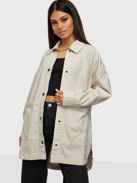 Sisters Point Otina Jacket skjortejakker Vanilla