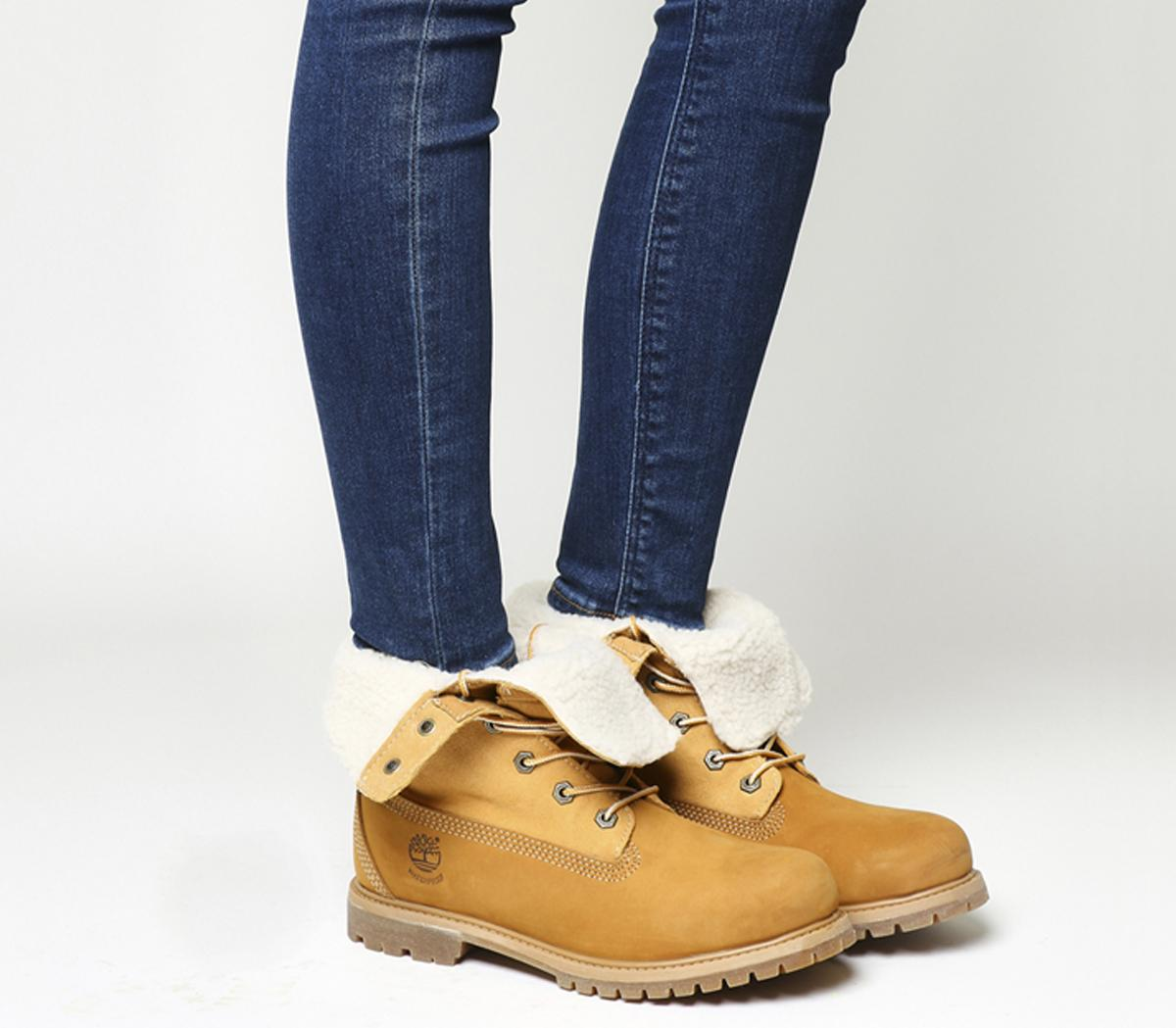great deals various design release date: Timberland Teddy Fleece Boots Wheat - Ankle Boots
