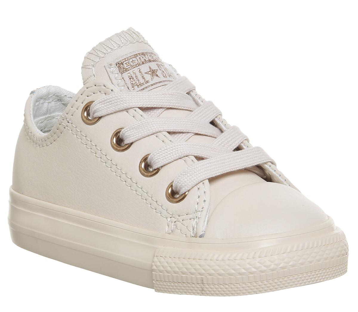 Star Ox Leather Infant Pastel Rose Gold