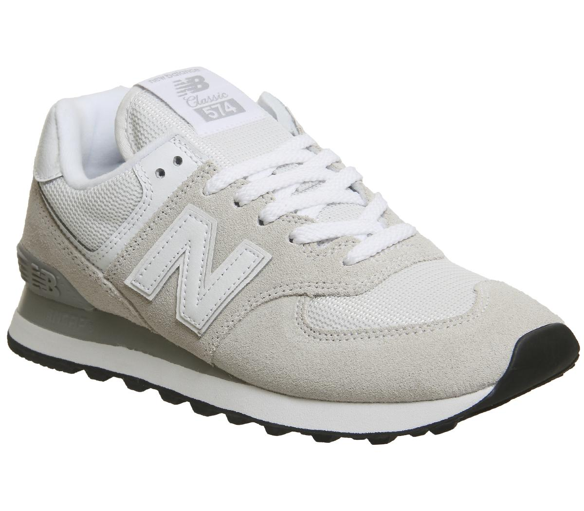 New Balance Wl574 Off White - Hers trainers