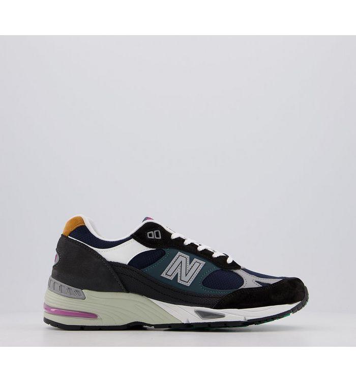 New Balance M991 BLACK BLUE,Black and Blue,Grey,Pink,Brown