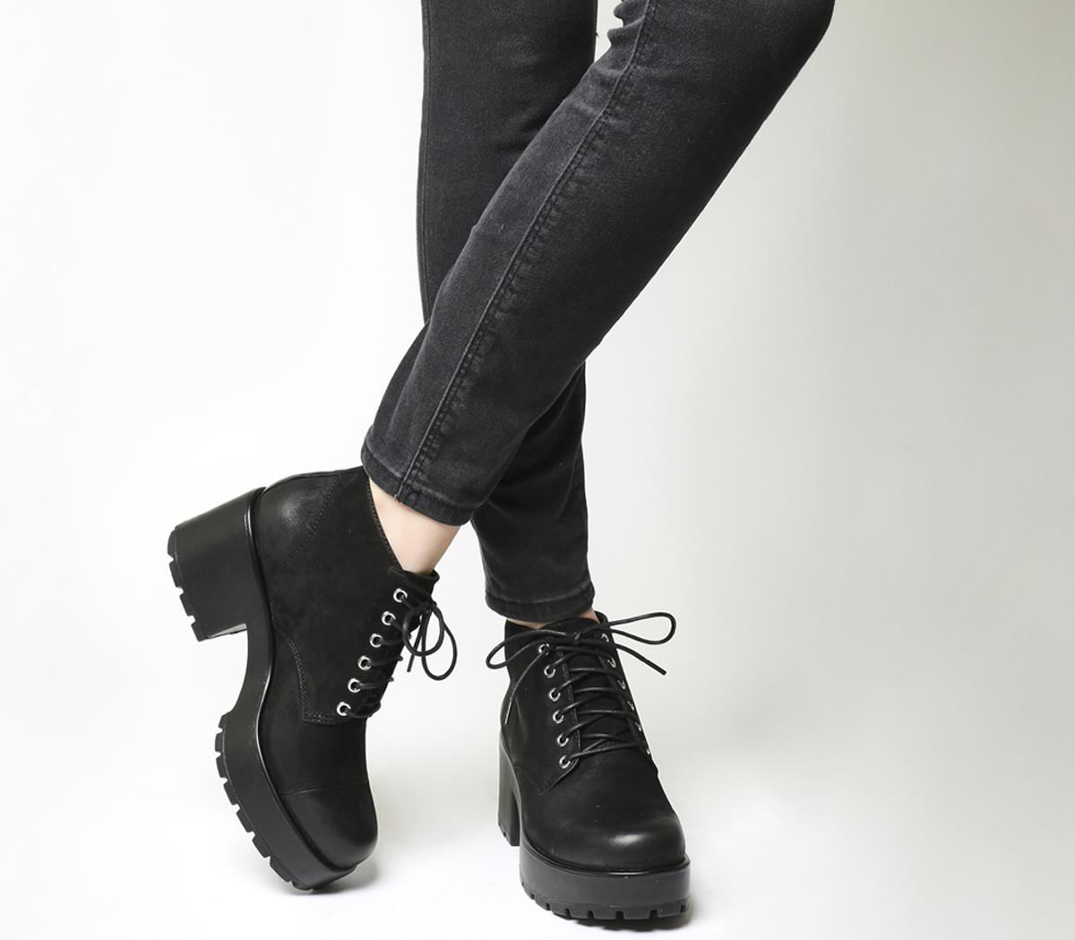 Dioon Lace Up Boots